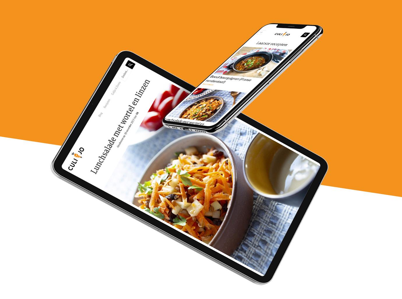 Culijo responsive designs foodblog ontwerp