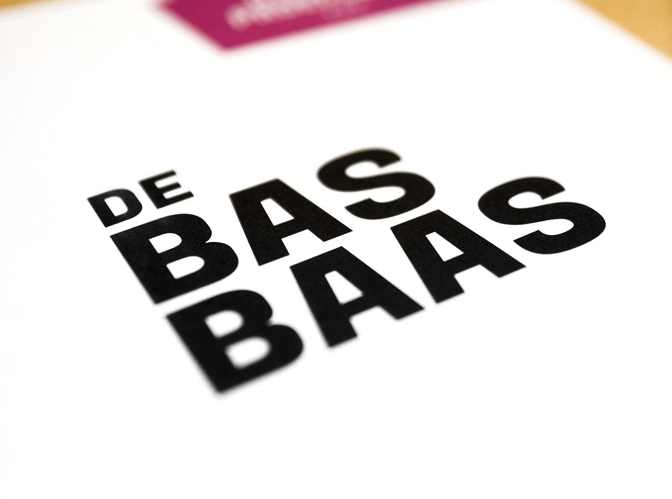 De Bas Baas Flyer Detail