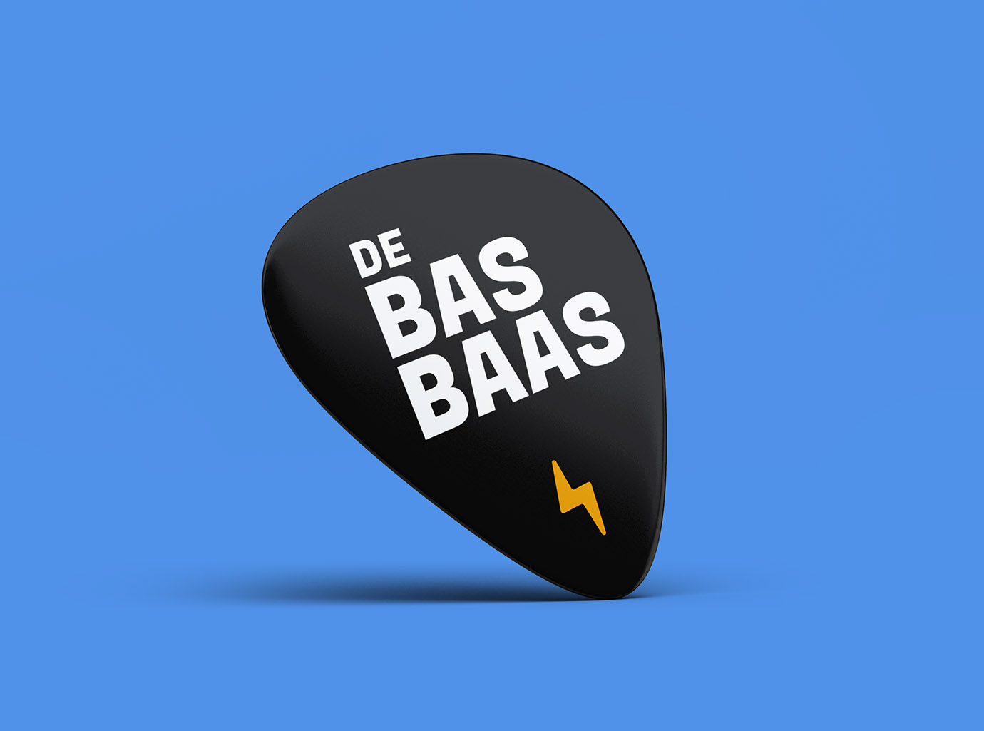 DeBasBaas guitar Pick