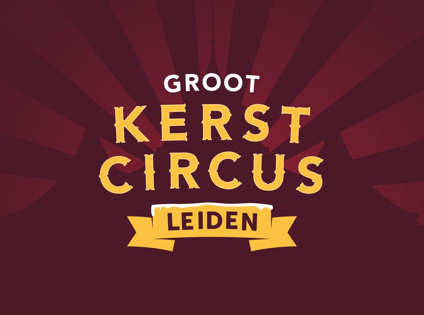 GrootKerstCircusLeiden-Logo-ontwerp