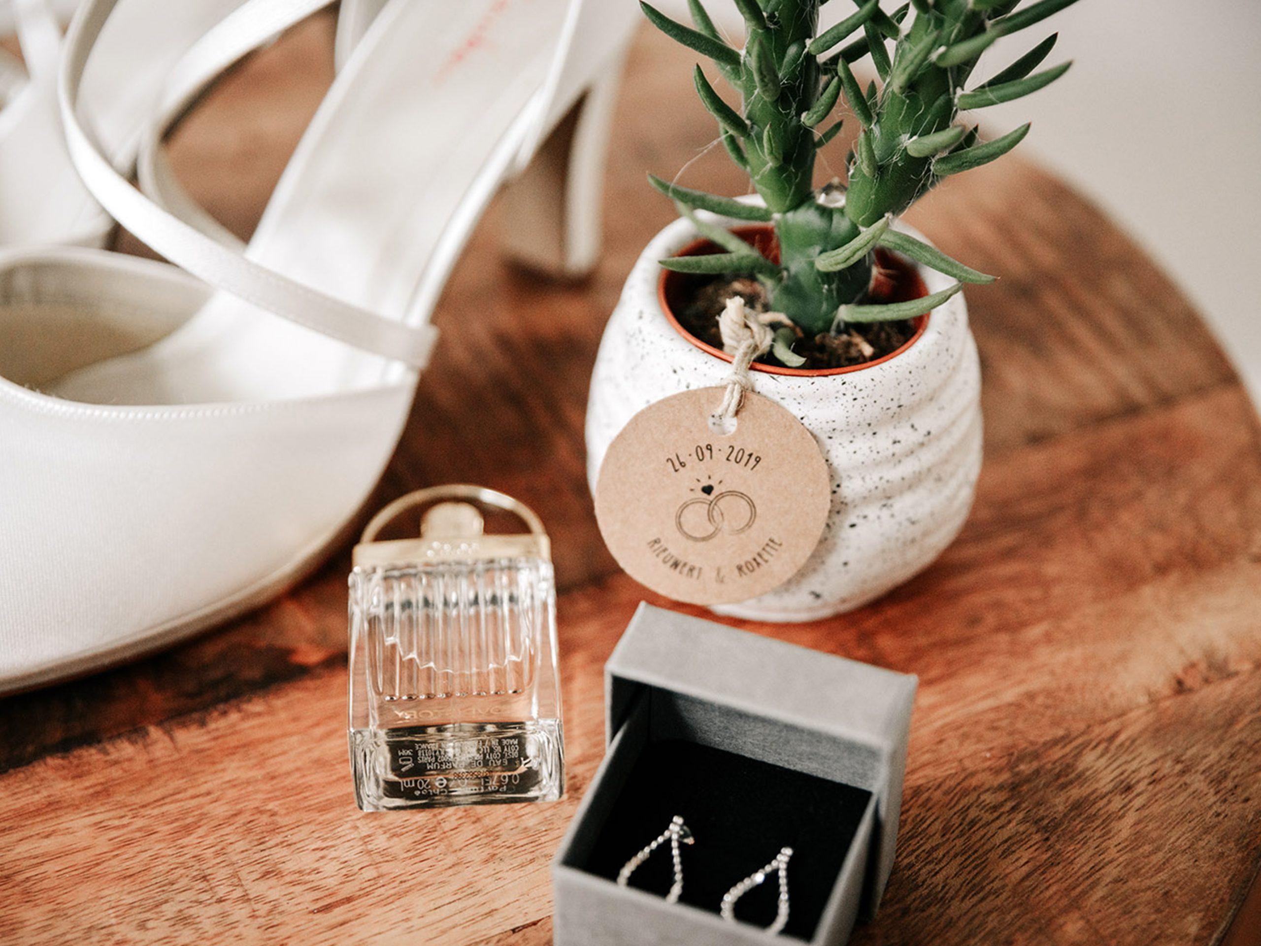 Trouwkaart bruiloft ontwerp op maat