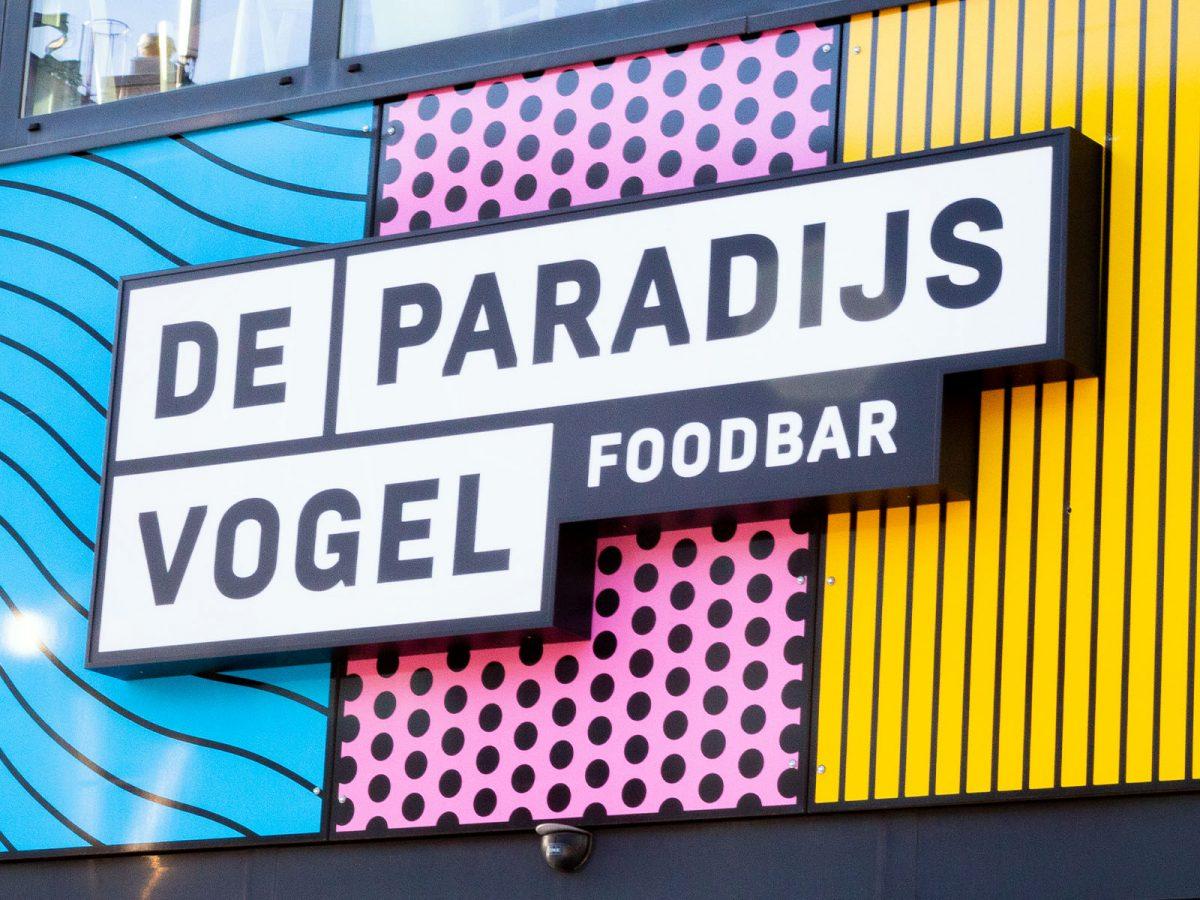 Logo ontwerp Leiden Paradijsvogel Kleurrijk