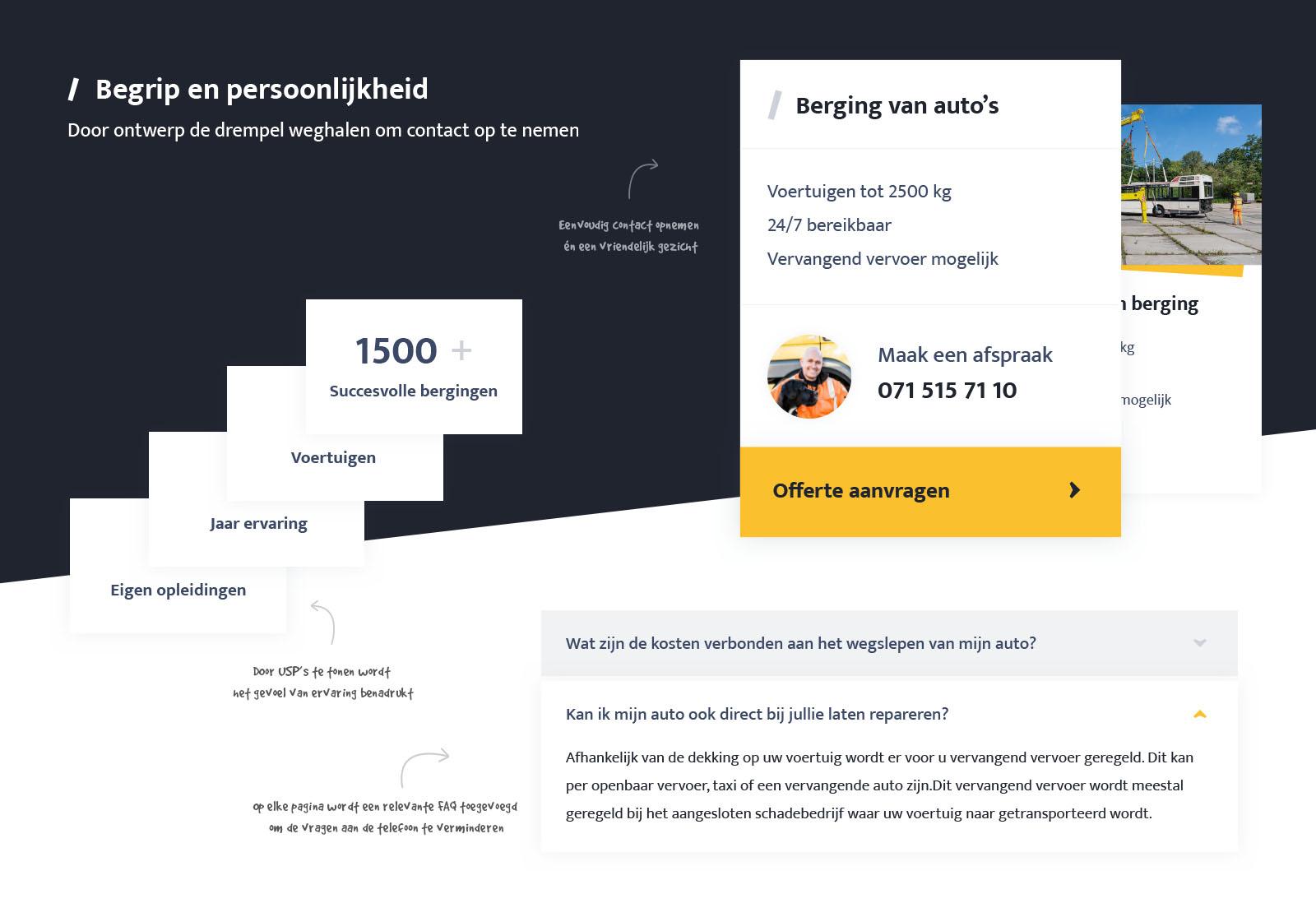 Webdesign UX persoonlijk
